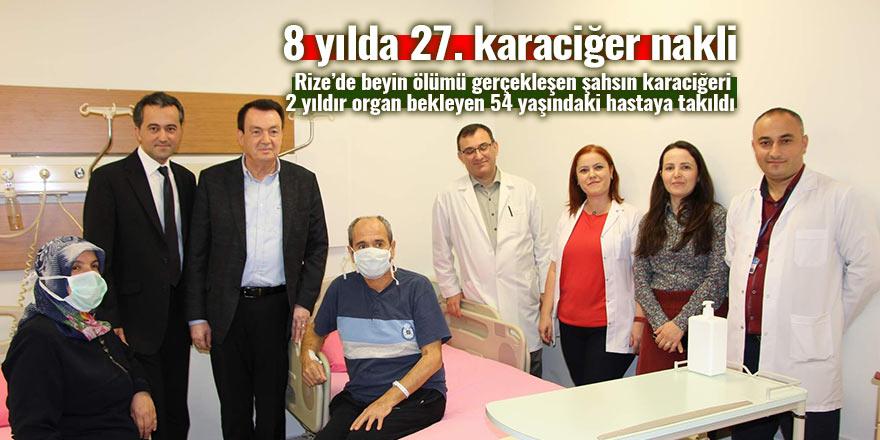 8 yılda 27. karaciğer nakli