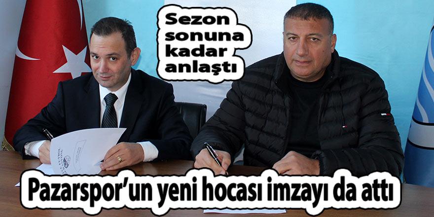Pazarspor'da Mustafa Ceviz imzaladı