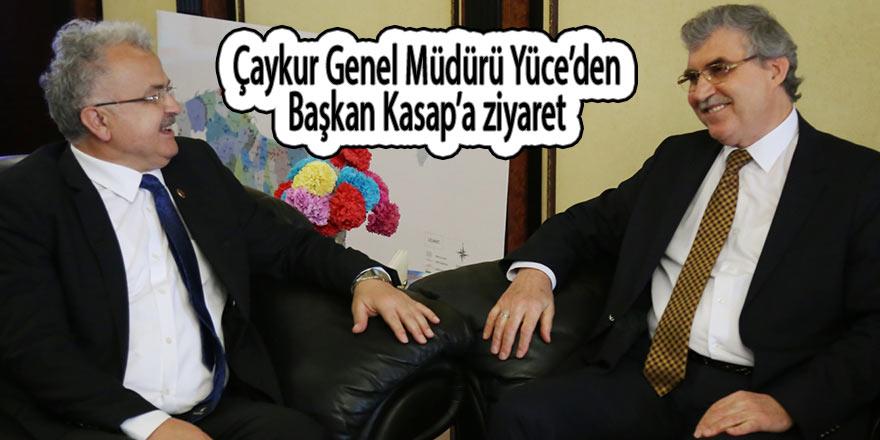 Çaykur Genel Müdürü Yüce'den Başkan Kasap'a ziyaret