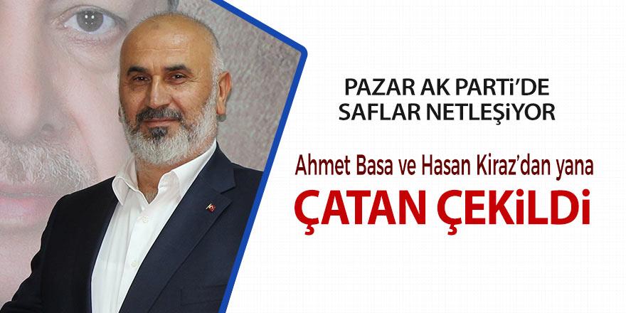 Pazar AK Parti'de saflar netleşiyor; Çatan çekildi