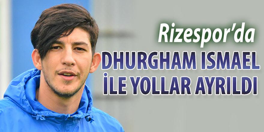 Çaykur Rizespor'da Dhurgham İsmail ile yollar ayrıldı