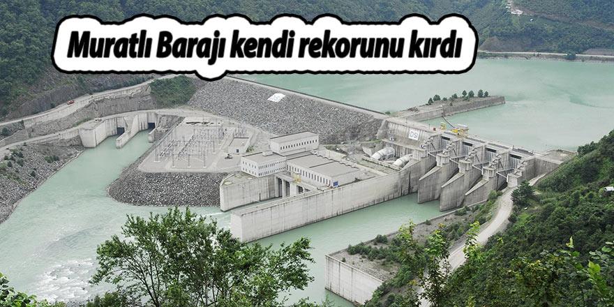 Muratlı Barajı kendi rekorunu kırdı