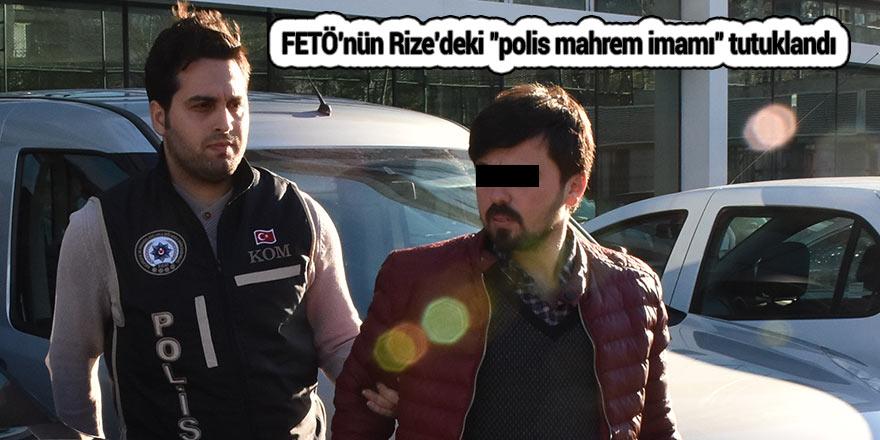 """FETÖ'nün Rize'deki """"polis mahrem imamı"""" tutuklandı"""