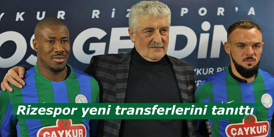 Rizespor yeni transferlerini tanıttı