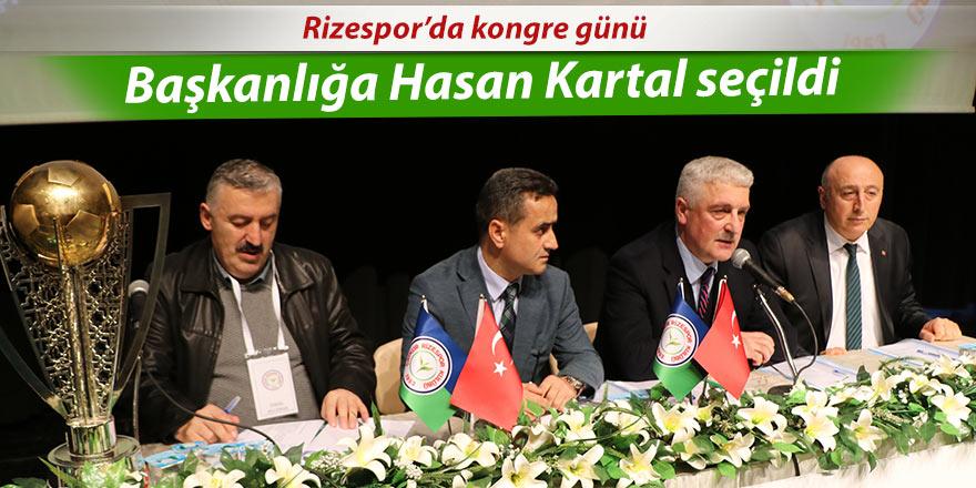 Rizespor'da başkanlığa Hasan Kartal seçildi