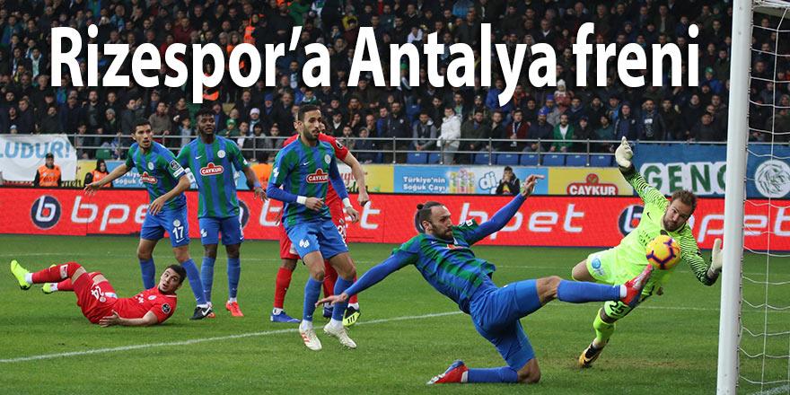 Rizespor'a Antalya freni