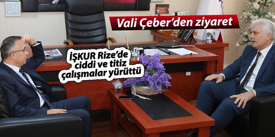 İŞKUR Rize'de ciddi ve titiz çalışmalar yürüttü