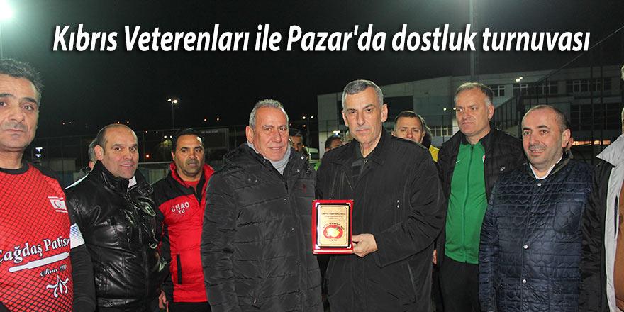 Kıbrıs Veterenları ile Pazar'da dostluk turnuvası