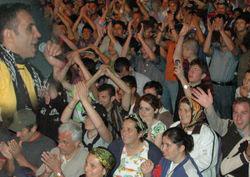 Ayder'de Birben'in gece konseri