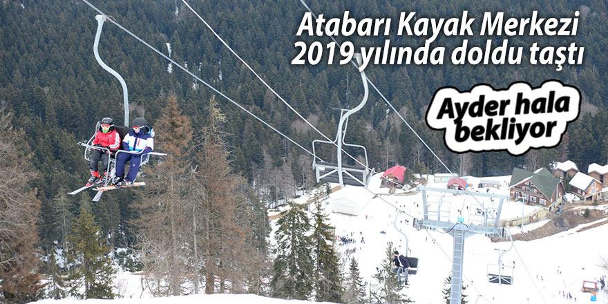 Atabarı Kayak Merkezi 2019 yılında doldu taştı
