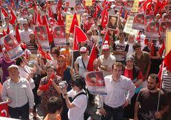 Trabzon'da Teröre Lanet mitingi