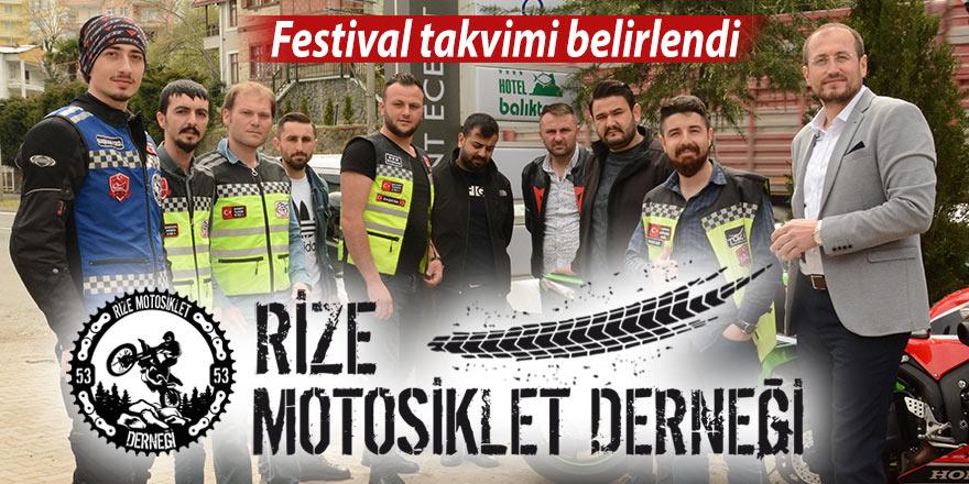 Motosiklet tutkunları festival takvimini belirledi