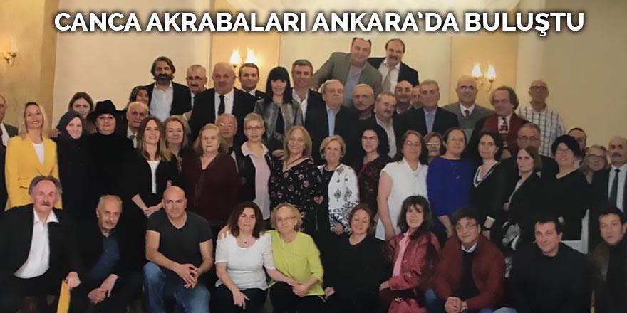Canca akrabaları Ankara'da buluştu