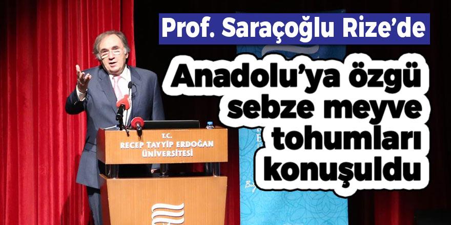 Anadolu'ya özgü sebze meyve tohumları konuşuldu
