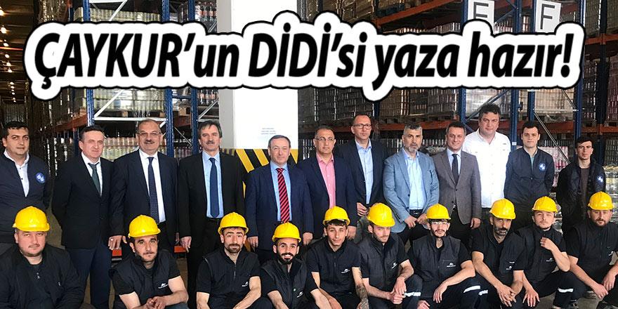 ÇAYKUR'un DİDİ'si yaza hazır!