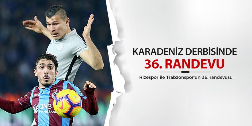 Rizespor ile Trabzonspor'un 36. randevusu