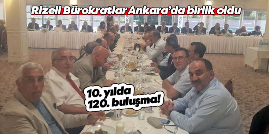 Rizeli Bürokratlar Ankara'da birlik oldu