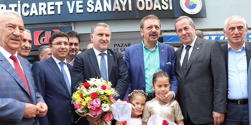 PAZAR TSO YENİ BİNASINDA