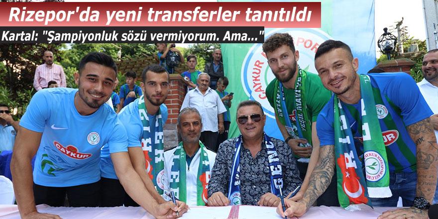 """Rizespor'un hocası Kartal: """"Şampiyonluk sözü vermiyorum. Ama..."""""""