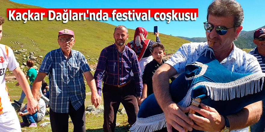 Kaçkar Dağları'nda festivalcoşkusu