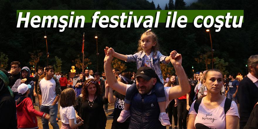 Hemşin festival ile coştu