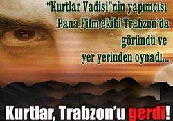 Kurtlar Trabzon'u germiş!