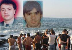 Of'da boğulan 2 kişi kıyıda bulundu