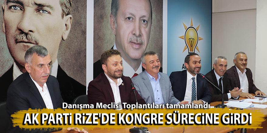 AK Parti Rize'de kongre sürecine girdi