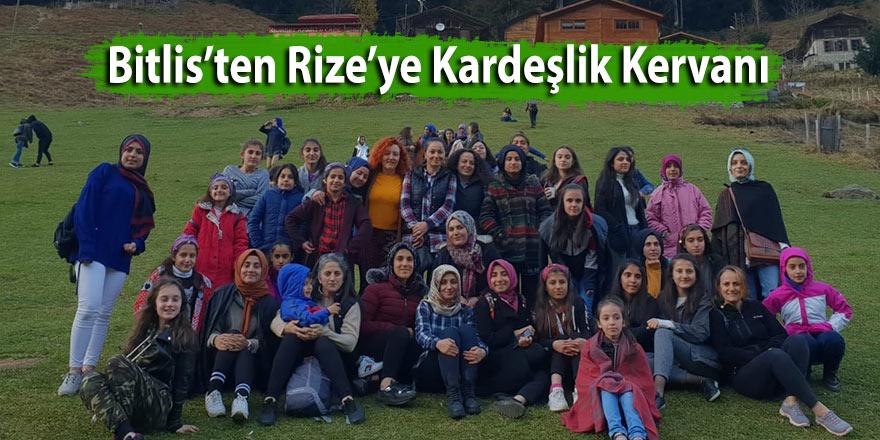 Bitlis'ten Rize'ye Kardeşlik Kervanı