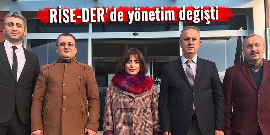 RİSE-DER'de yönetim değişti