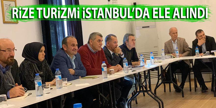 Rize turizmi İstanbul'da ele alındı