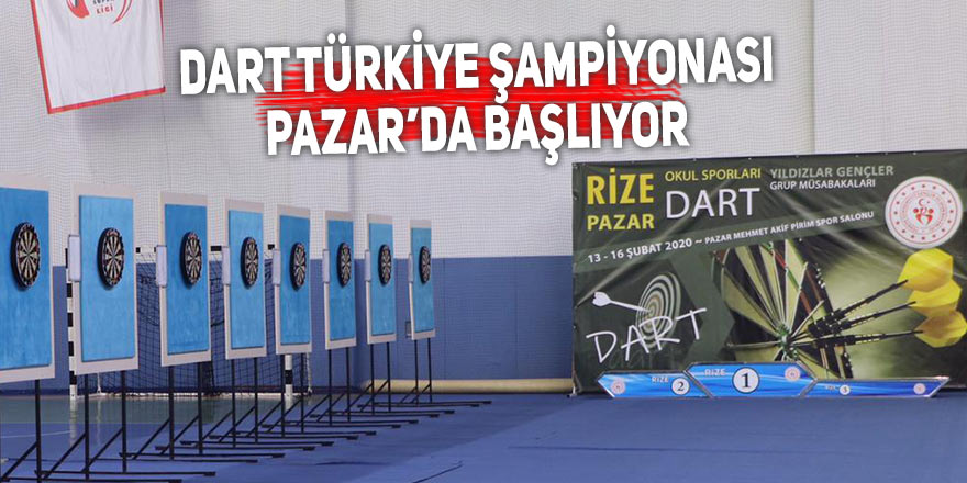 Dart Türkiye Şampiyonası Pazar'da başlıyor