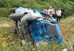 Pazar'da kaza: 1'i ağır 3 yaralı