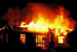 Artvin'de korkutan yangın