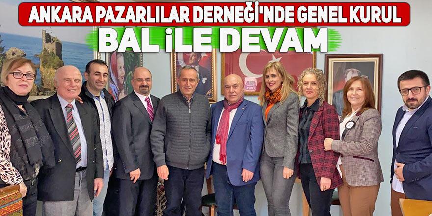 Ankara Pazarlılar Derneği Bal ile devam