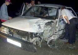 Of'da kaza: 4 yaralı