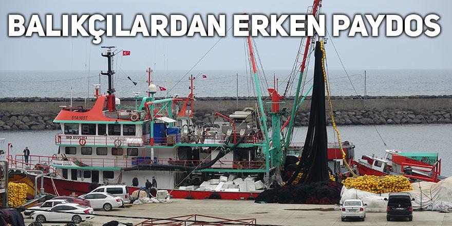 """Balıkçılar erken """"paydos"""" dedi"""