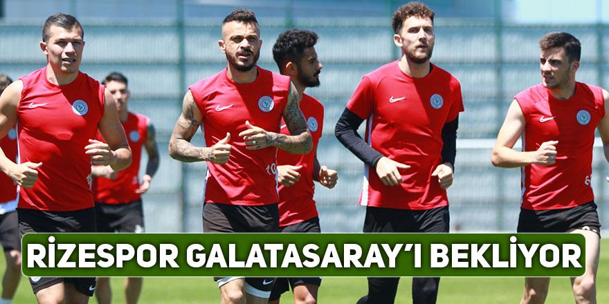 ÇaykurRizespor'da Galatasaray maçı hazırlıkları