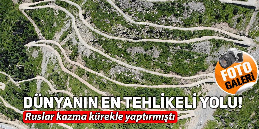 Dünyanın en tehlikeli yolu!