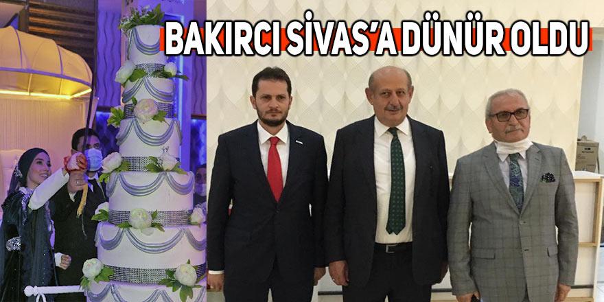 Halil Bakırcı Sivas'a dünür oldu