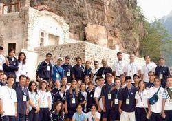 Yunanlılar Sümela manastırında