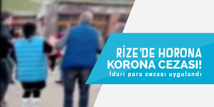 Yaylada horona Korona cezası
