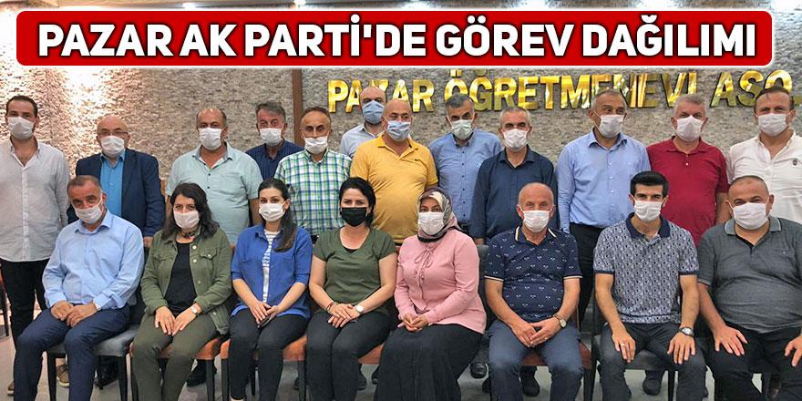 Pazar AK Parti'de görev dağılımı