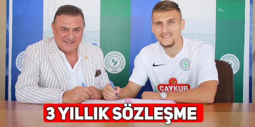 Rizespor, Emir Dilaver'i transfer etti