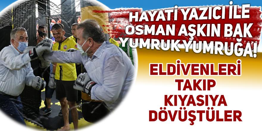 Hayati Yazıcı ile Osman Aşkın Bak yumruk yumruğa!