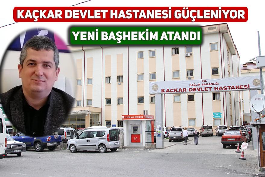 Kaçkar Devlet Hastanesi güçleniyor