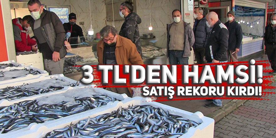 3 TL'DEN HAMSİ, SATIŞ REKORU KIRDI!