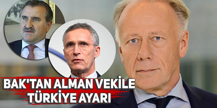 Bak'tan Alman milletvekiline Türkiye ayarı