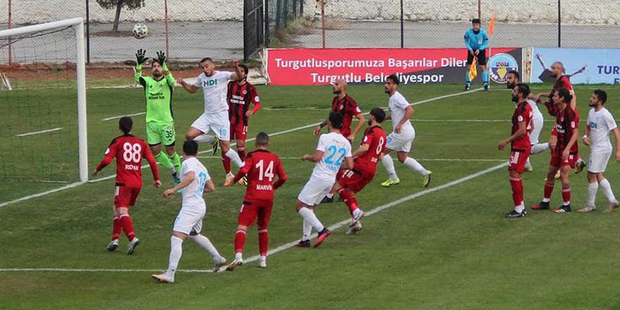 Pazarspor Turgutlu'da 3 puan bıraktı