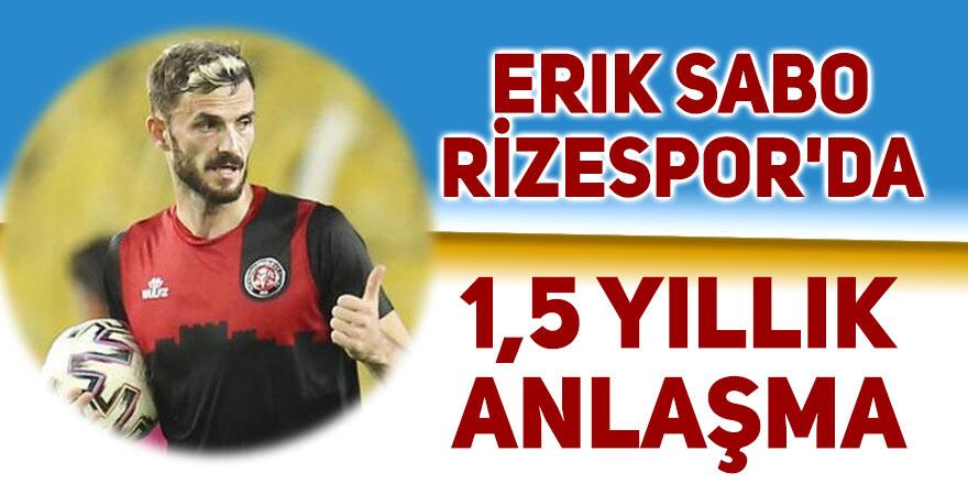 Erik Sabo, Rizespor'da